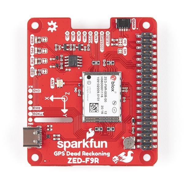 Sparkfun ZED-F9R GPS RTK
