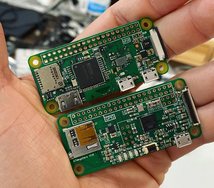 ATMegaZero Arduino Raspberry Pi Zero
