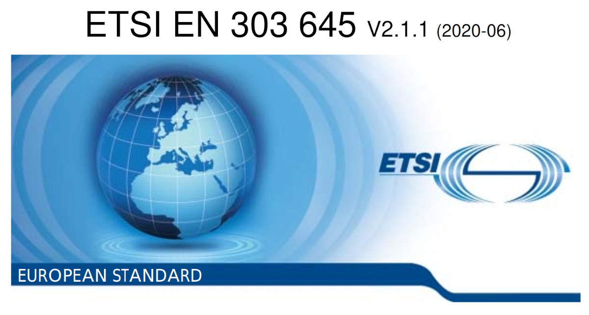 ETSI EN 303 645 IoT Security Standard