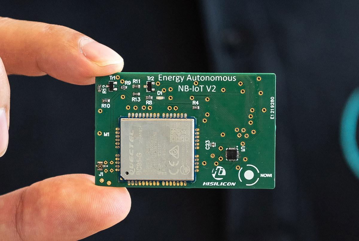 Energy Autonomous NB-IoT V2