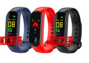 Fitness Tracker Fake Heart Rate Sensor