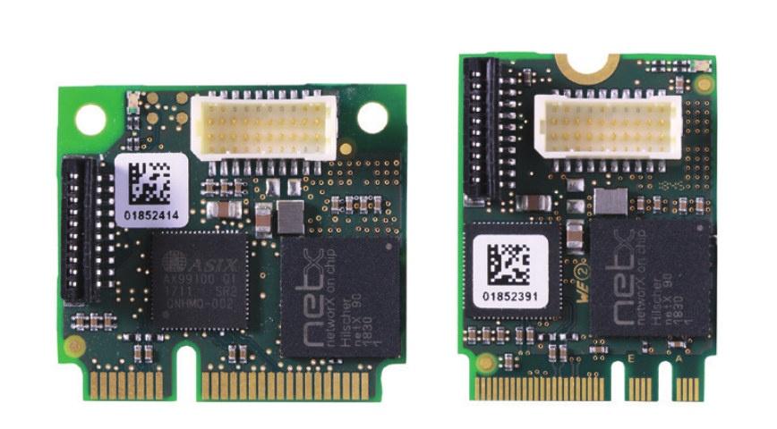 Hilscher cifX M.2 mini-PCIe-halfsize Ethernet Cards