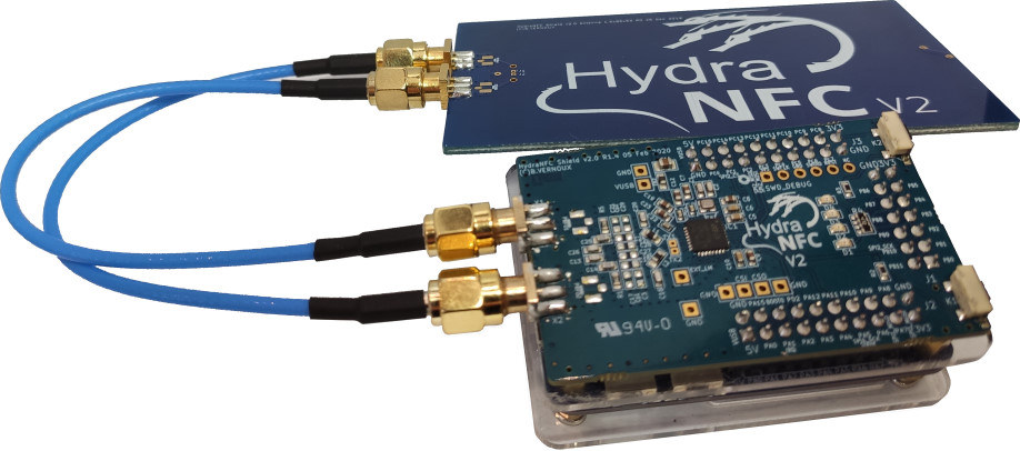 HydraNFC Shield V2 Hydrabus NFC Board