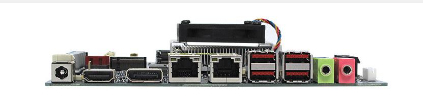 Intel Celeron 4305UE MX4305UE SBC Ports
