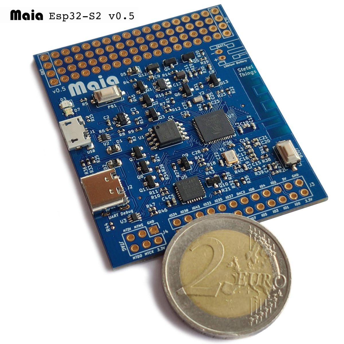 Maia ESP32-S2 Board