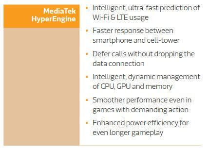 MediaTek HyperEngine Features