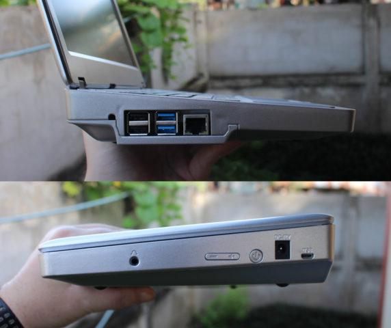 Raspberry Pi 4 Laptop Ports
