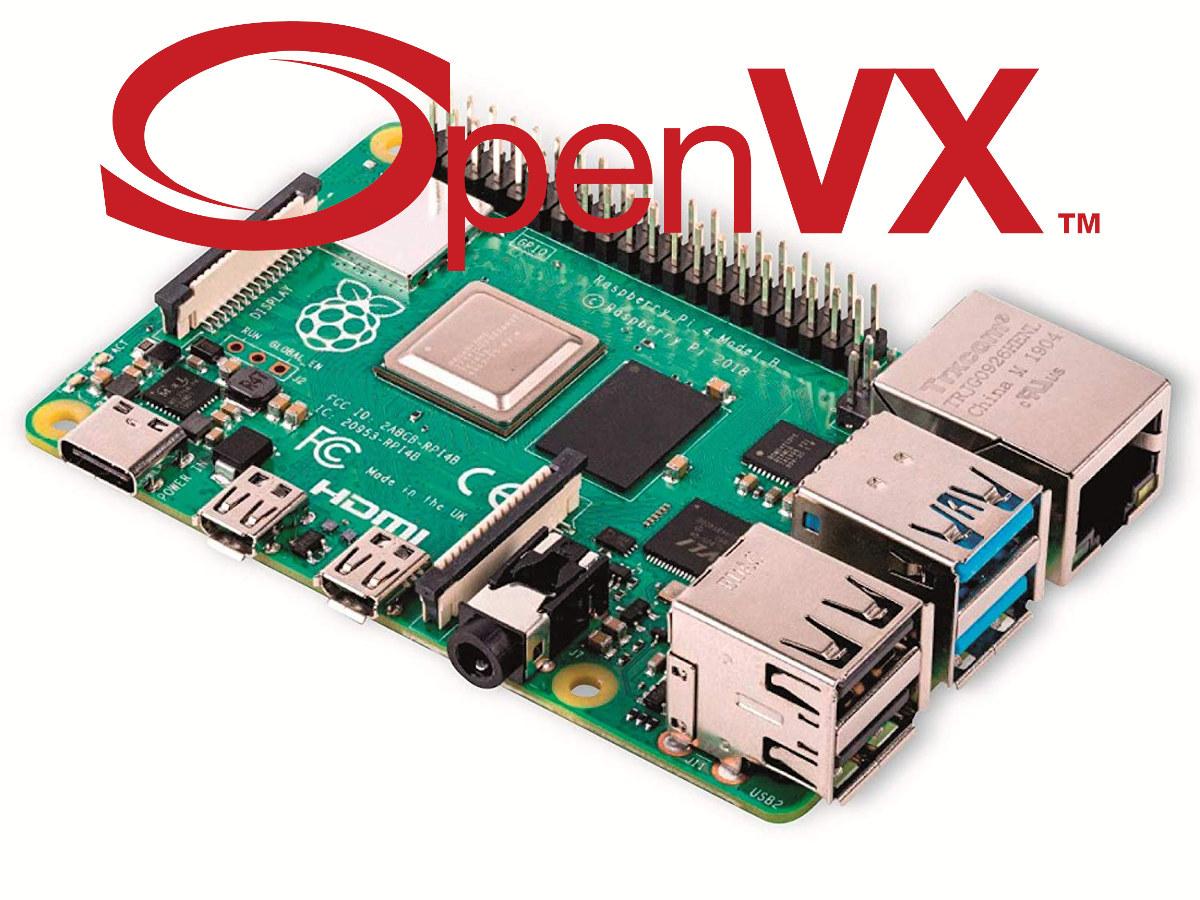 Raspberry Pi OpenVX 1.3