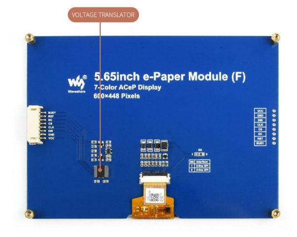 SPI color e-Paper Display