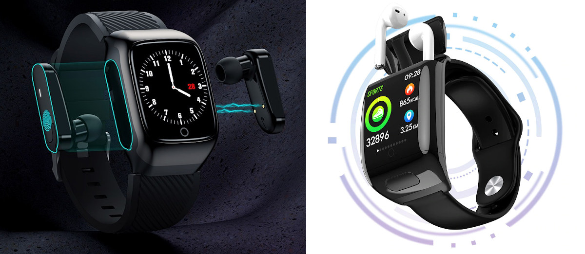Smart watches earbuds