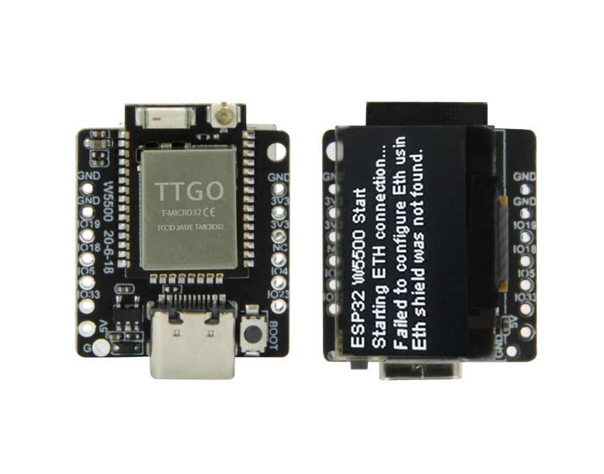 TTGO T-Lite W5500 ESP32 OLED Board