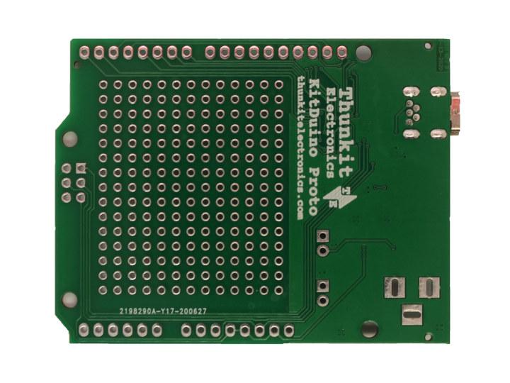 Arduino board built-in perfboard