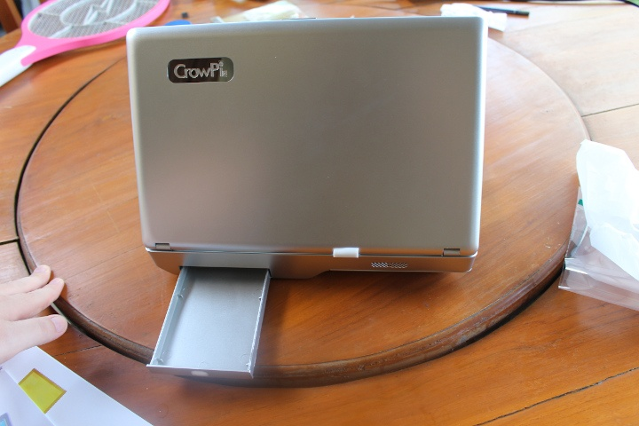 laptop with storage compartment