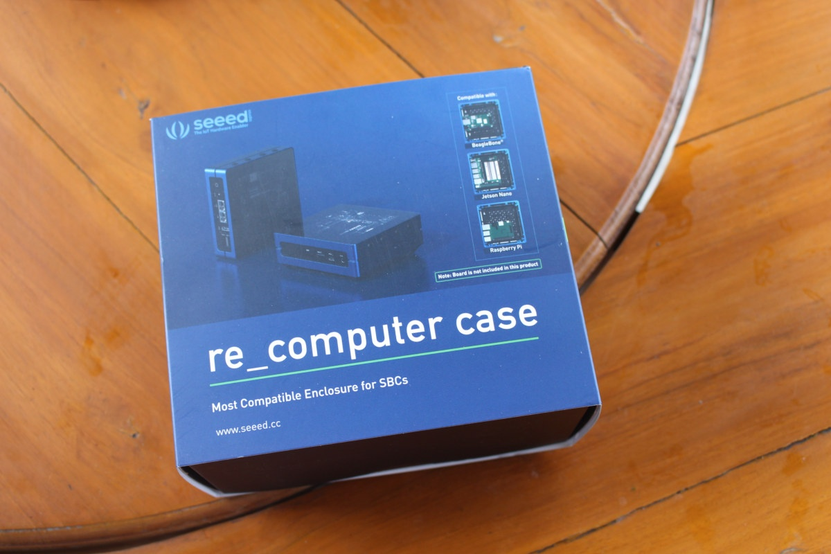 re_computer case for raspberry pi, beaglebone and jetson nano