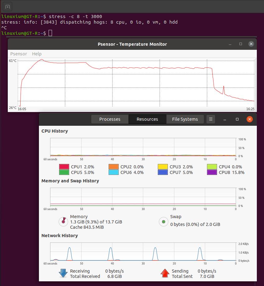 Beelink GT-R ubuntu temperature