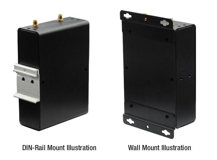 Edge IoT Gateway DIN Rail & Wall Mount options