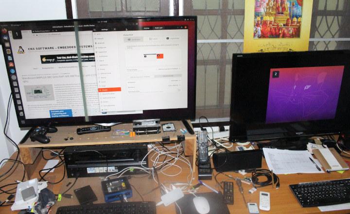 ODYSSEY-X86J4105 Dual Display with Ubuntu 20.04