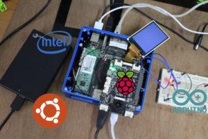 ODYSSEY-X86J4105 Ubuntu 20.04 Review Arduino & Raspberry Pi Headers
