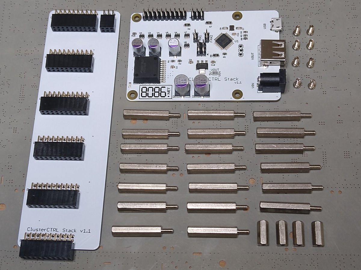 Raspberry Pi Cluster Kit