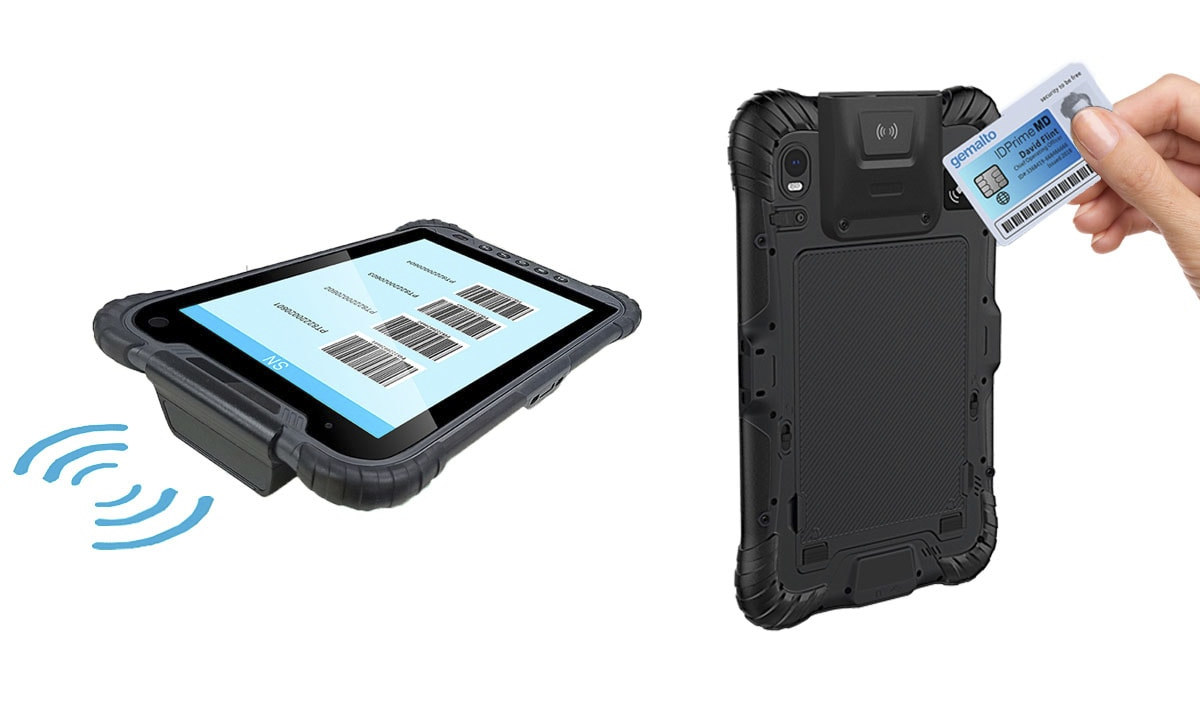 Rugged Tablet RFID
