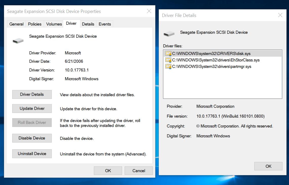 Seagate Expansion Windows 10 Driver