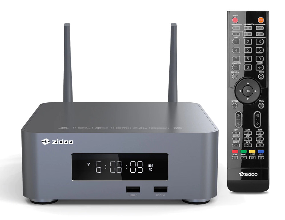 ZIDOO Z10Pro 4K Media Player Remote Control