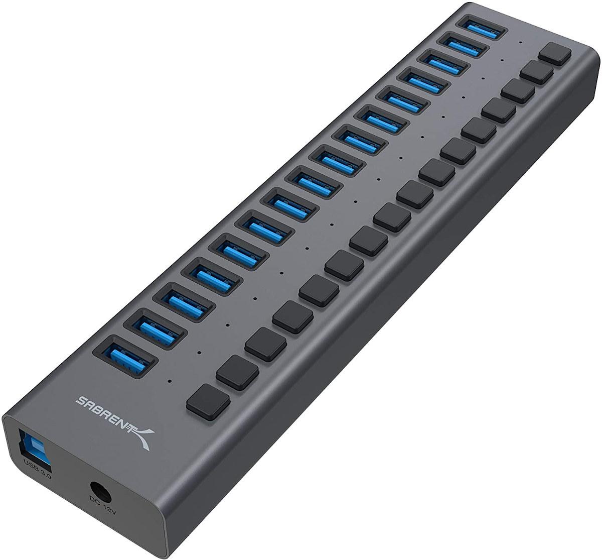 16-port USB 3.0 Hub