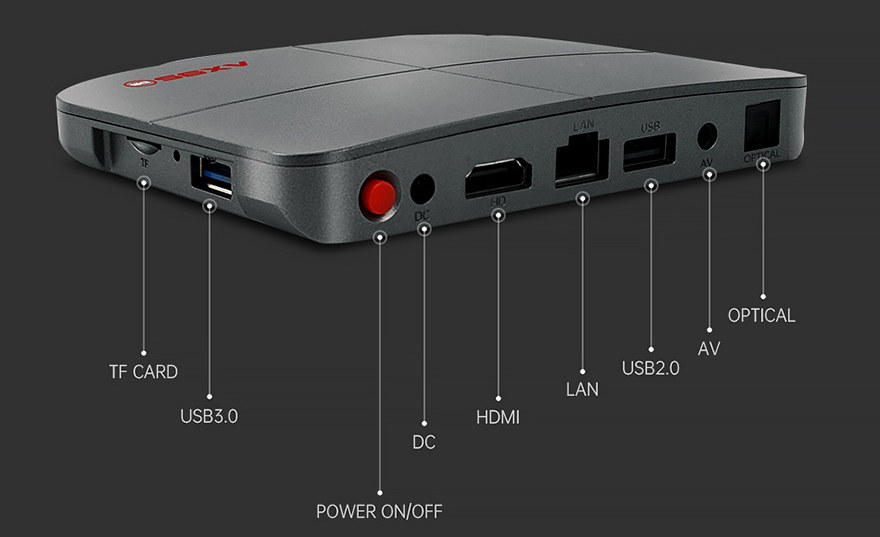 AX95-DB TV Box