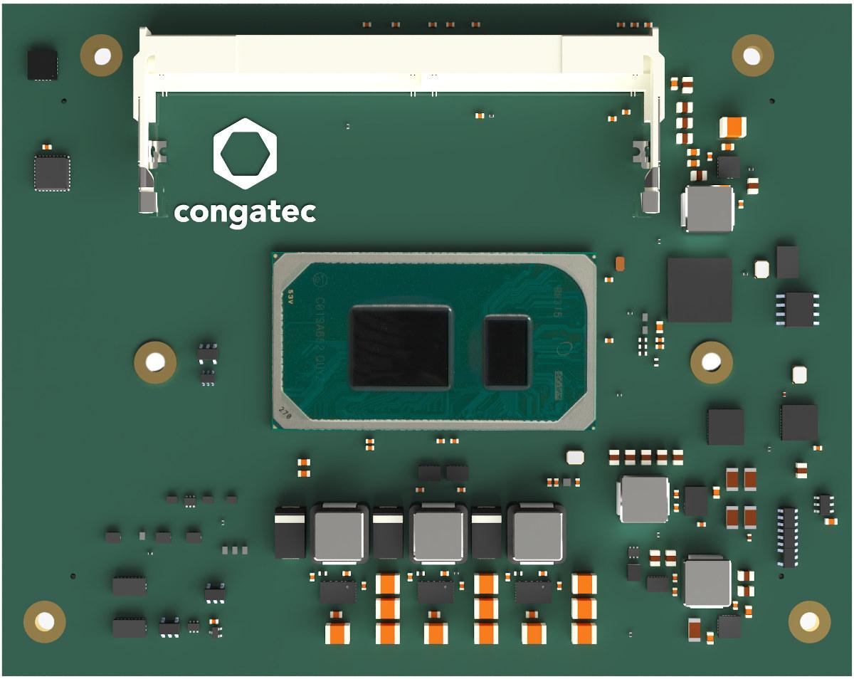 COM-HPC Tiger Lake Computer-on-Module
