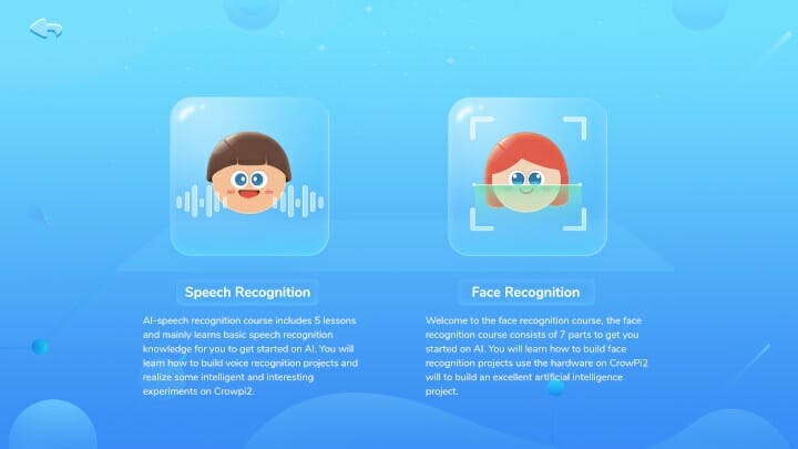 CrowPi2 AI Speed Recognition & Face Recognition