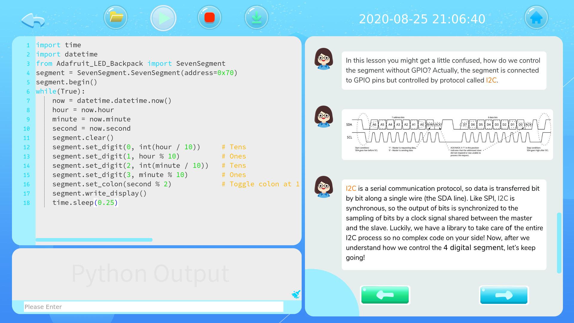 CrowPi2 Python I2C