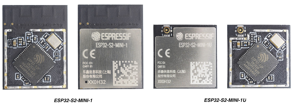 ESP32-S2-MINI modules