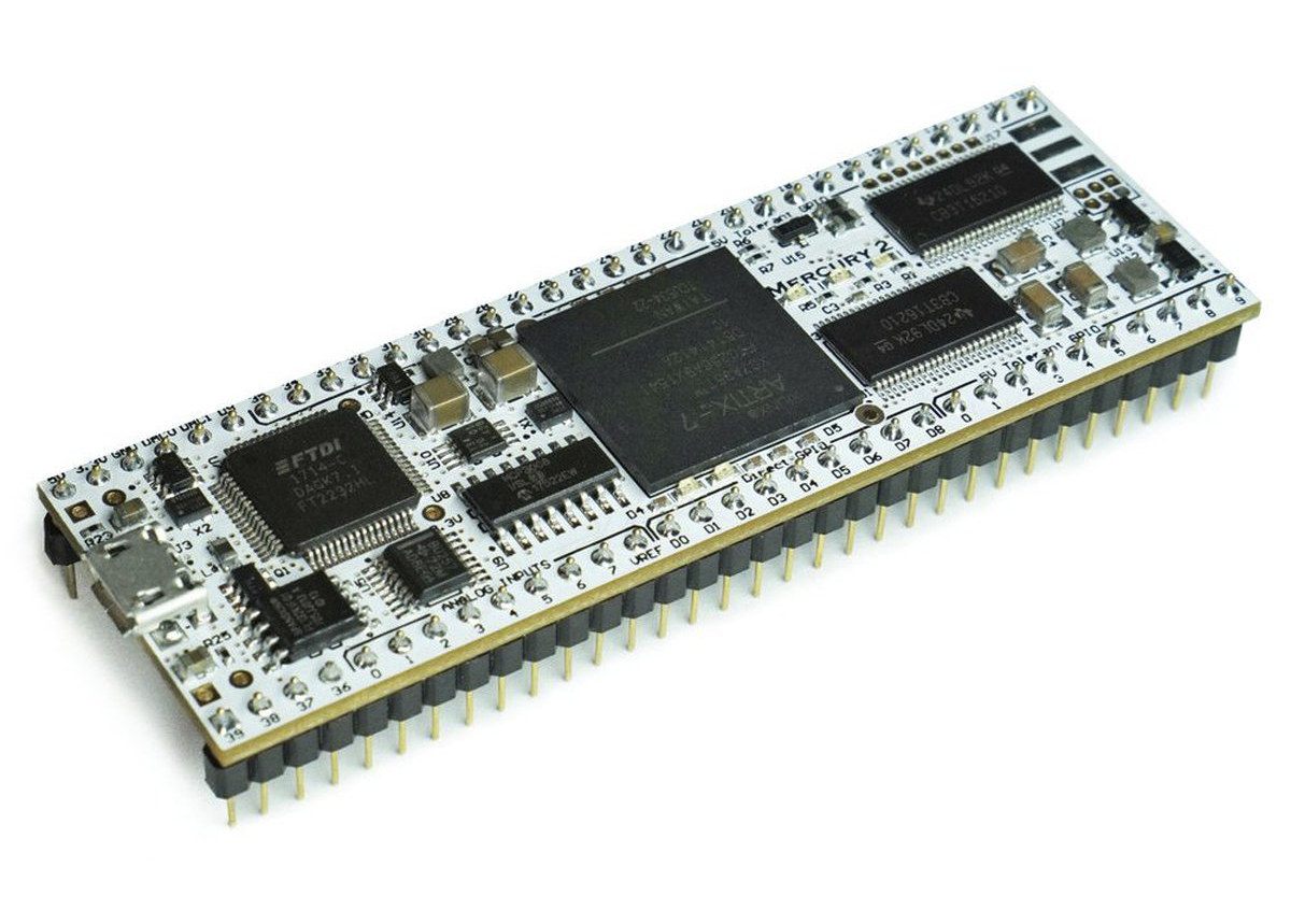 FPGA Meets Breadboard - Mercury-2 Development Board