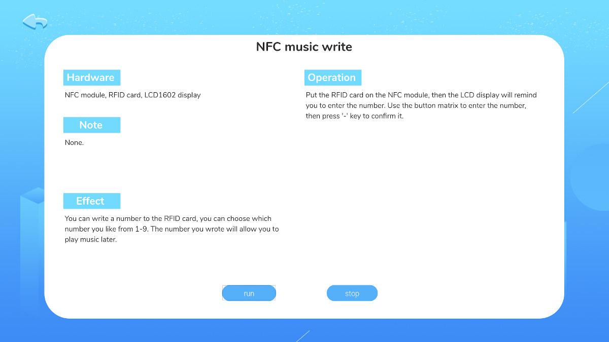 NFC Music Write