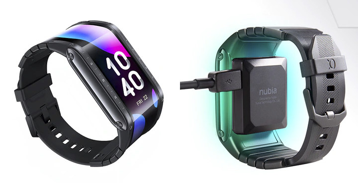 Nubia Watch Flexible Display