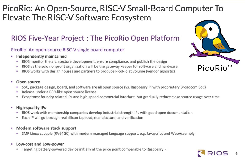 PicoRio Linux RISC-V SBC