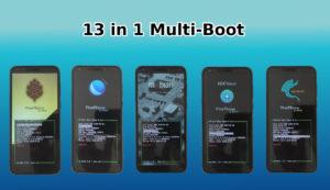 Pinephone Multiboot 13 Linux distributions