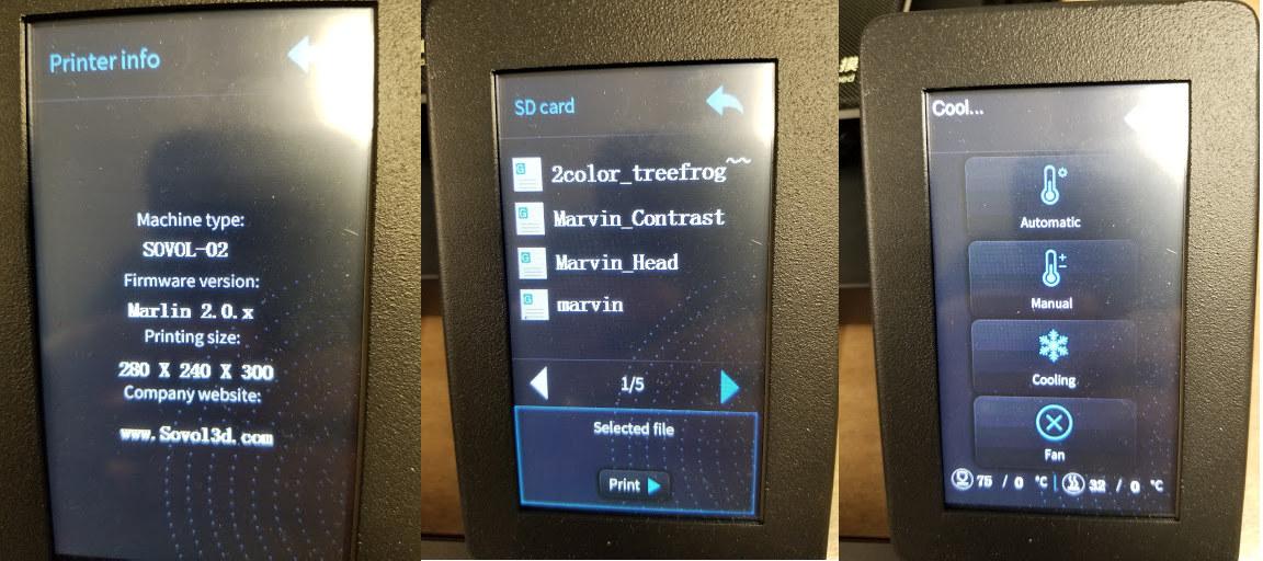 SOVOL-02 Marlin 2.0 Firmware
