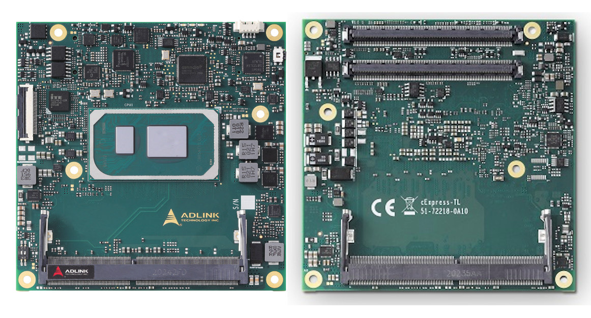 cExpress-TL Tiger Lake UP3 COM Express Module
