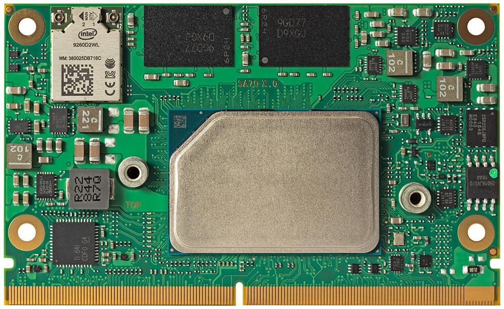 conga-SA7 SMARC-2.1 Atom x6000E system-on-module