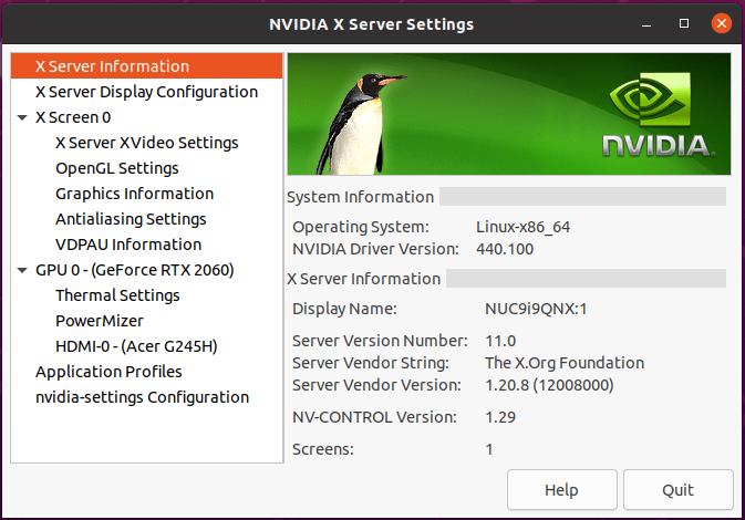 ubuntu 20.04 gpu info