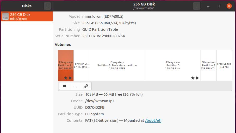 ubuntu disk management