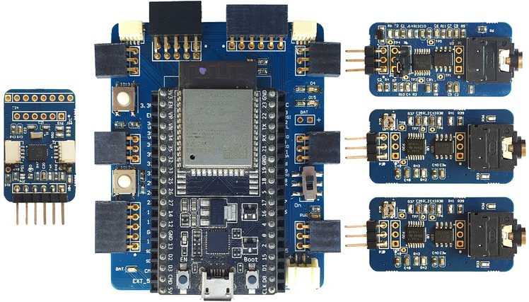 E3K ESP32 bio-sensing platform