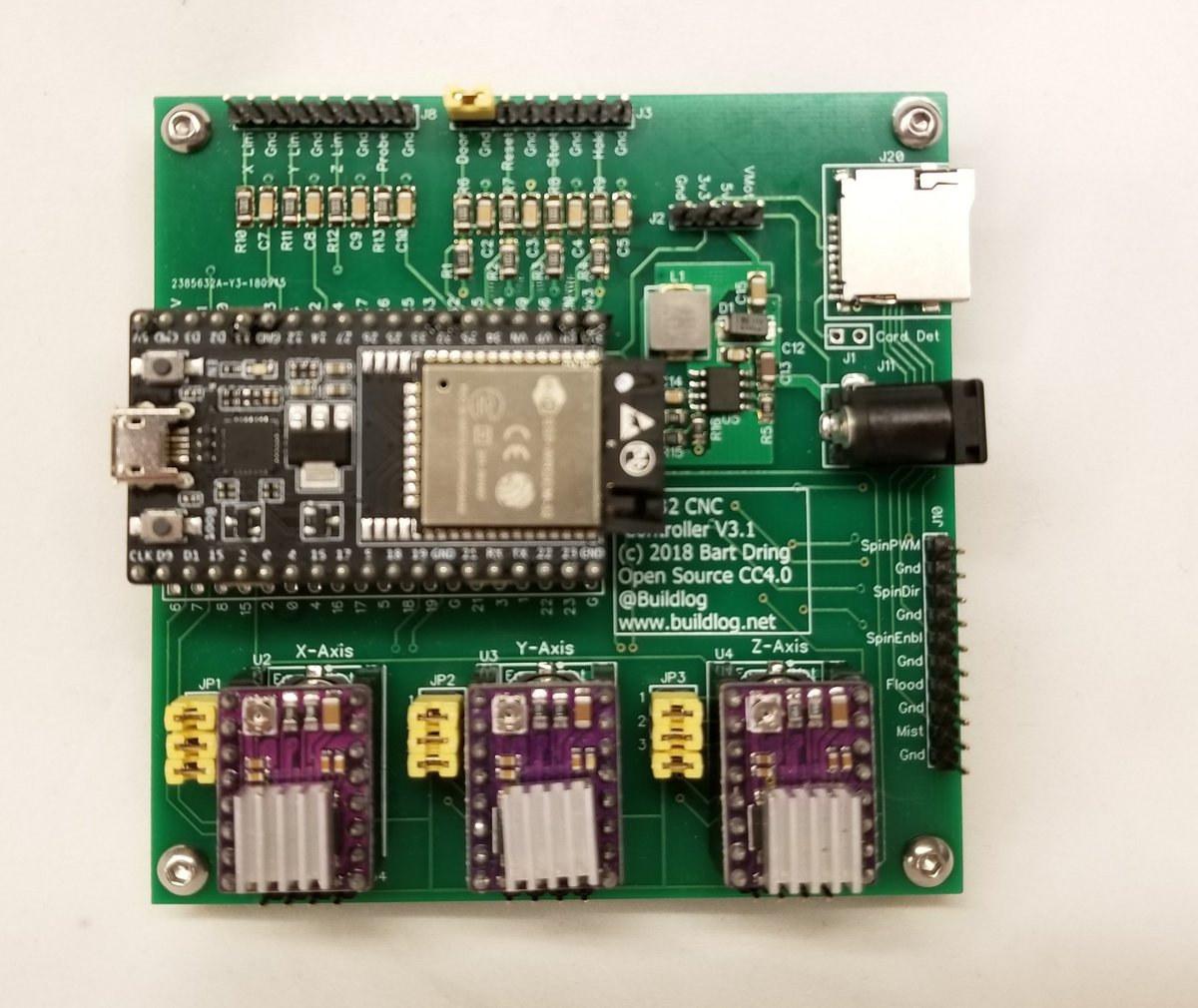 ESP32 CNC Controller Board
