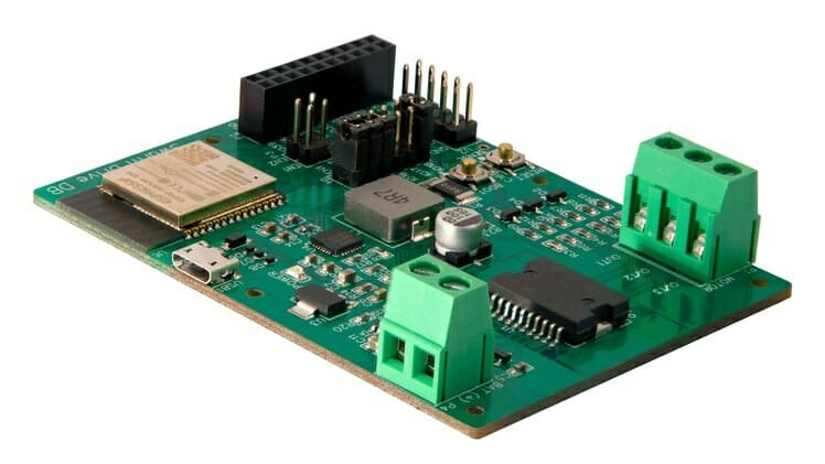 Image of article 'SwarmDrive is an ESP32 motor driver board for brushless motors (Crowdfunding'