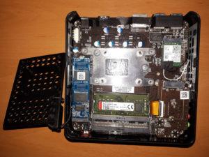EliteMini H31G RAM & SSD