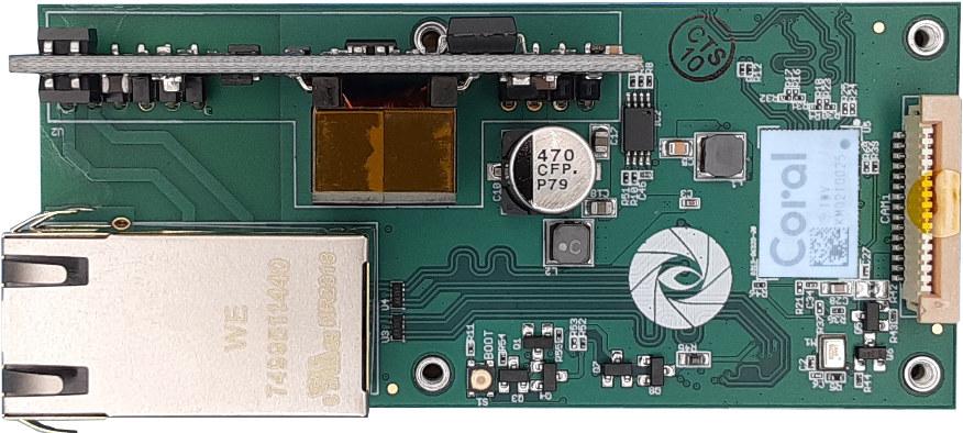 Gumstix Raspberry-Pi-Compute Module 4 PoE Camera