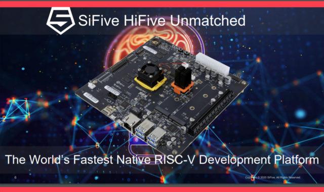 HiFive Unmatched Native RISC-V Development Platform