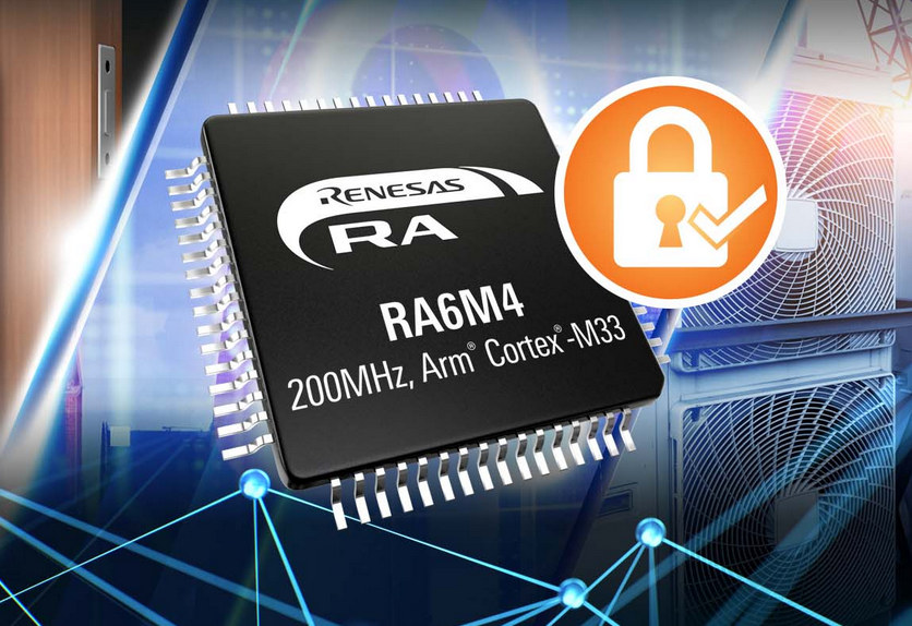 Renesas RA6M4 Cortex-M33 MCU