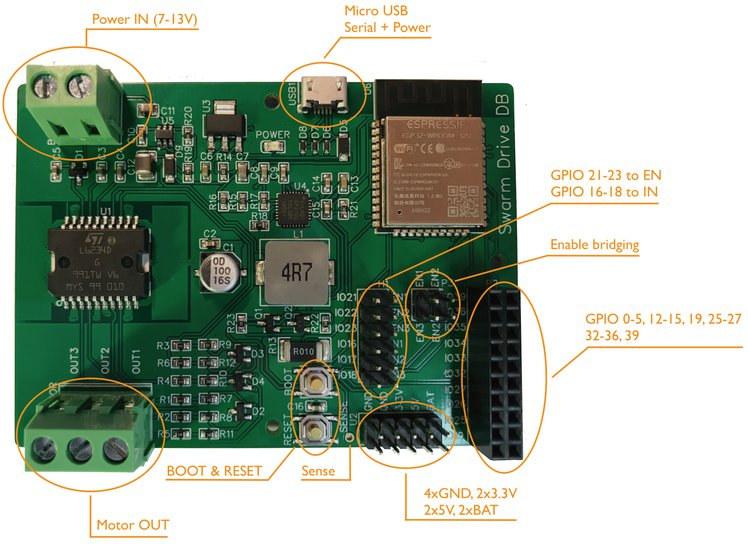 SmartDrive ESP32 Motor Control